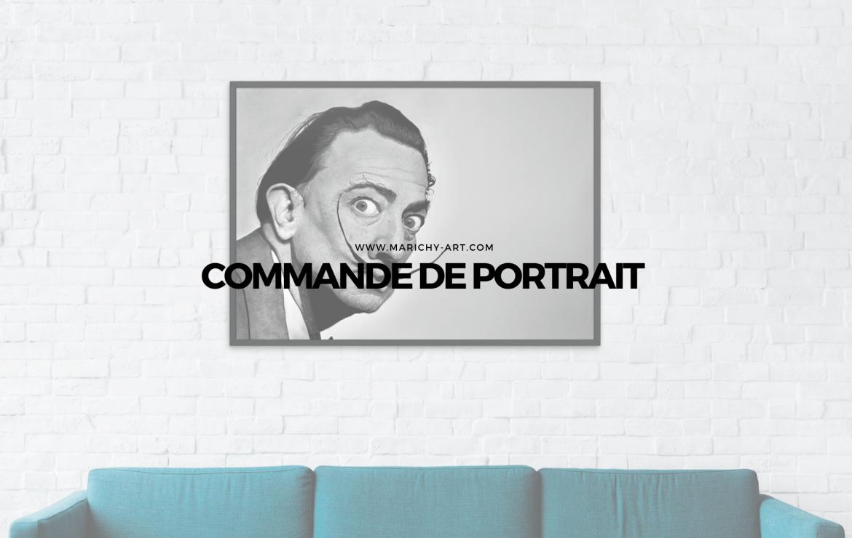 commande de portrait